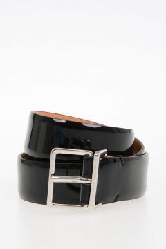 30mm Patent Leather Belt