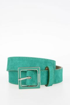 30 mm Suede Leather Belt