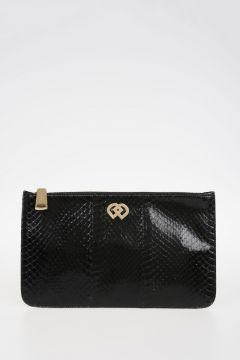 Reptile Leather Pochette