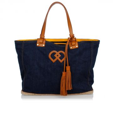 Borsa a Spalla in Denim