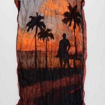 Silk Scarf 170 x 63 cm