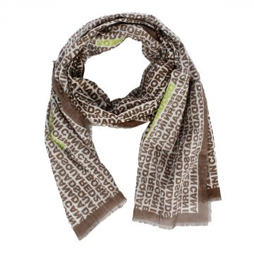 Cotton Printed Scarf 195 x 65 cm