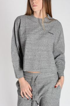 Round Neck Cotton Sweatshirt