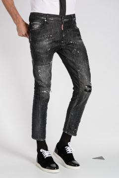 Jeans TIDY BIKER in Denim Stretch 16 cm