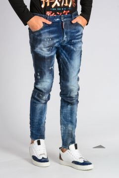 Jeans COOL GUY in Denim di Cotone Stretch 16 cm