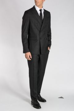 Virgin Wool Double Breasted NAPOLI Suit