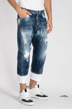 Jeans WORK WEAR in Denim Destroyed 19 cm
