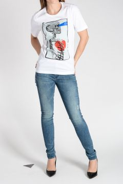 T-shirt RENNY FIT in Jersey di Cotone