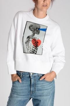 Printed DEAN FIT Sweatshirt