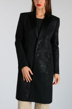 Coated wool Blend Coat