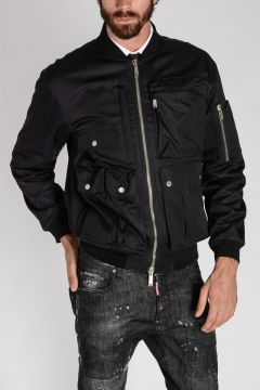 Multipocket Bomber Jacket