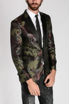 Single Breasted Tuxedo Blazer