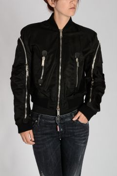 Padded Crop Bomber