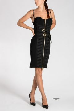 Stretch Viscose Pencil Dress