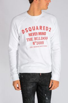 NEVER MIND THE BULLDOGS Print Sweatshirt
