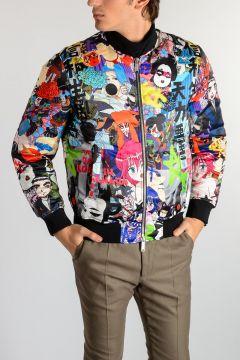 Manga Printed Down Jacket