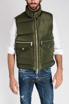 Sleeveless Down Padded Jacket