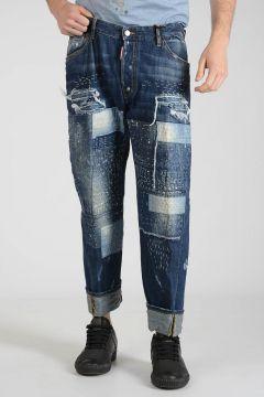 21cm Denim WORK WEAR Jeans with Patch