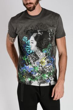 Printed LONG COOL FIT T-shirt