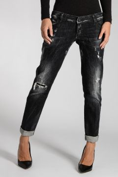 Destroyed Denim PAT Jeans 16 cm