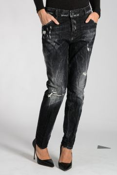 Jeans COOL GIRL in Denim Destroyed 16 cm