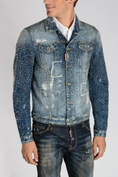 KABAN Studded Denim Jacket