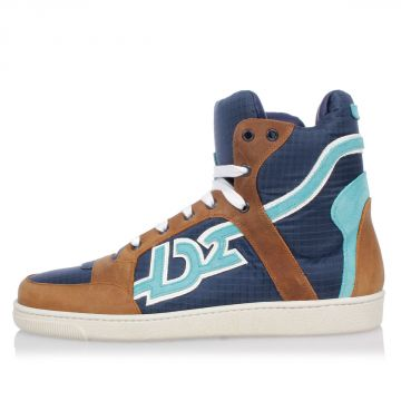 Fabric High top Sneakers