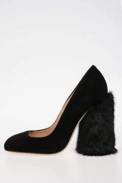 11cm Heel Shoes with fur