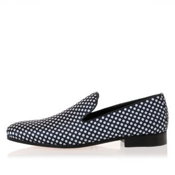 Mocassini Slip on Stampa Pois
