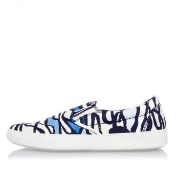 Printed Slip on Sneakers