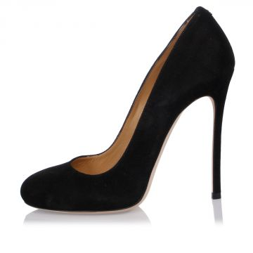 Suede Leather Pumps 12 cm