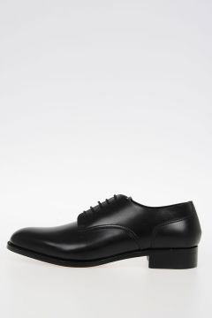 3 cm Male Style Laced Leather Shoes