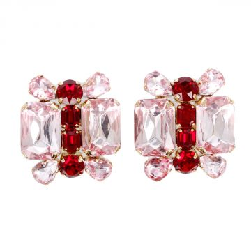 Earrings with Rhinestone