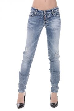 Stretch Denim SUPER SLIM Jeans 13 cm