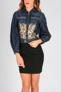 Denim Embroidery Jacket