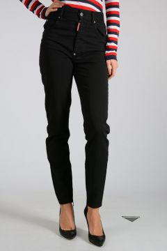 Stretch Cotton HIGH WAIST TWIGGY Pants