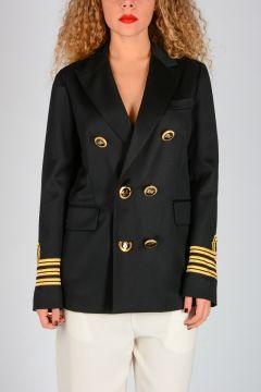 Wool Military Blazer