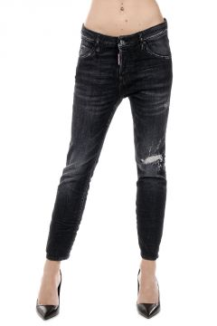 15 cm COOL GIRL CROPPED JEAN Denim Destroyed Jeans