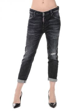 Jeans in Denim Destroyed COOL GIRL CROPPED JEAN 15 cm