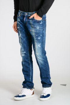 19 cm Stonewashed Denim SLIM Jeans