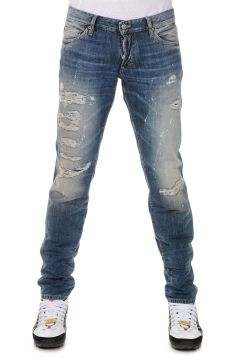 Jeans SLIM in Denim Delave 19 cm
