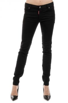 Jeans TWIGGY JEAN in Denim Stretch Scuro 11 cm