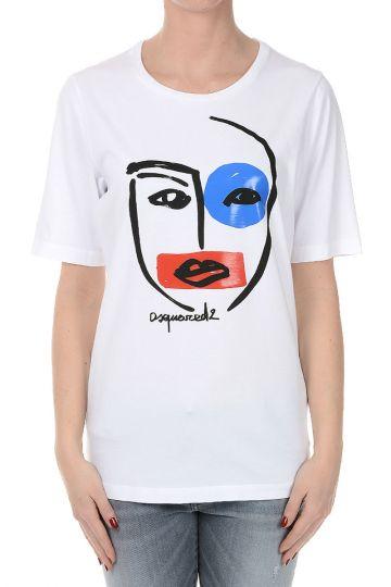 Cotton Jersey Round neck T-shirt