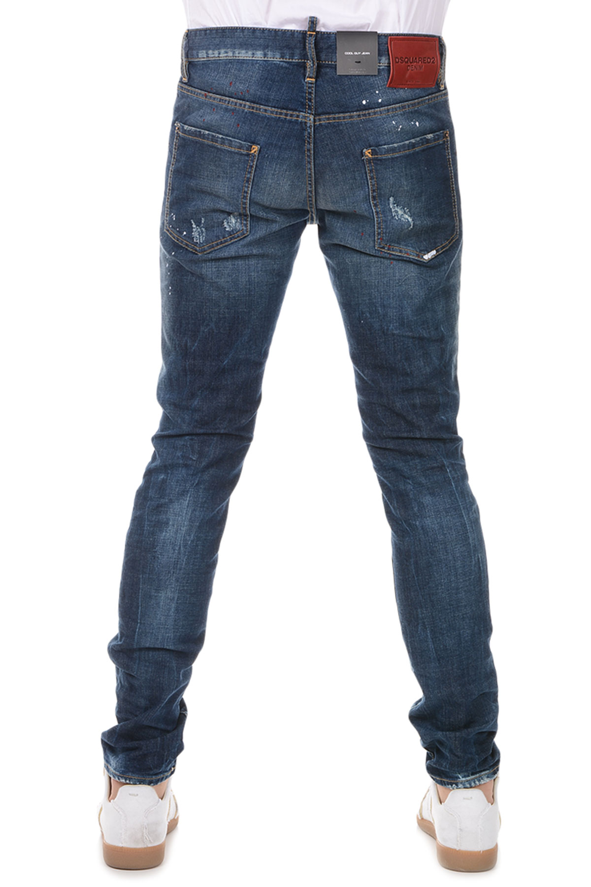 Dsquared2 Uomo Jeans COOL GUY in Denim Stretch 16 cm - Glamood Outlet 6022461d592a