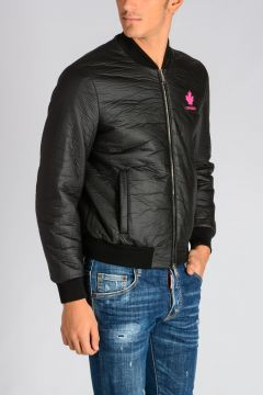 Coated Bomber Jacket