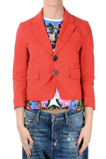 Blazer in Stretch Cotton