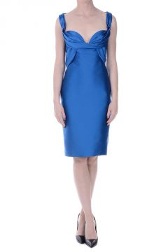 Sleeveless Pencil Dress with Sweetheart neck