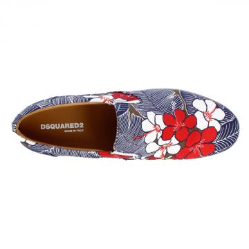 POP TUX DRILL Waikiki Printed Sneakers
