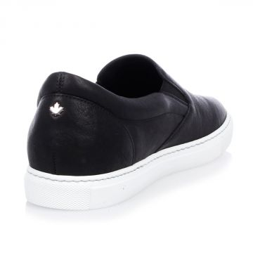 Sneakers POP TUX Slip On in Pelle