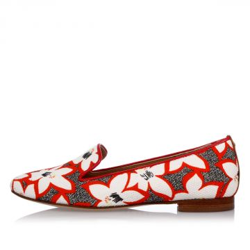 Floral Printed ESSENTIAL Ballet Shoes